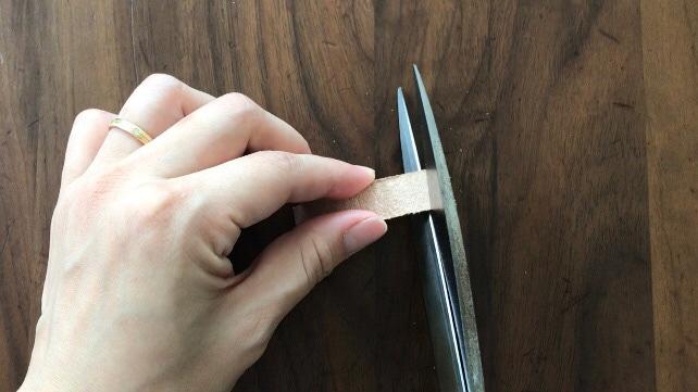 指ぬきの作り方
